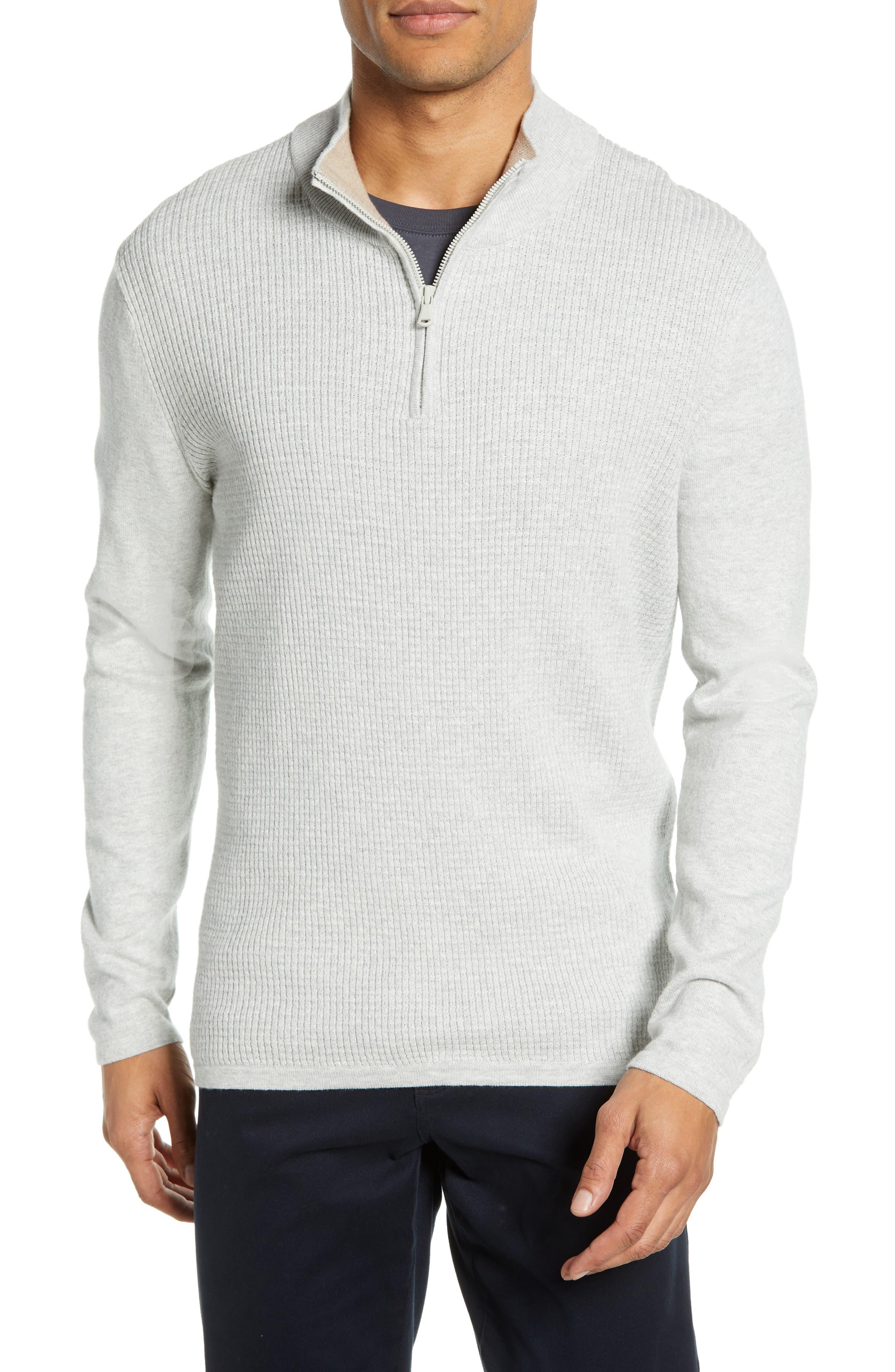 ,                             Higgins Quarter Zip Sweater,                             Main thumbnail 7, color,                             102