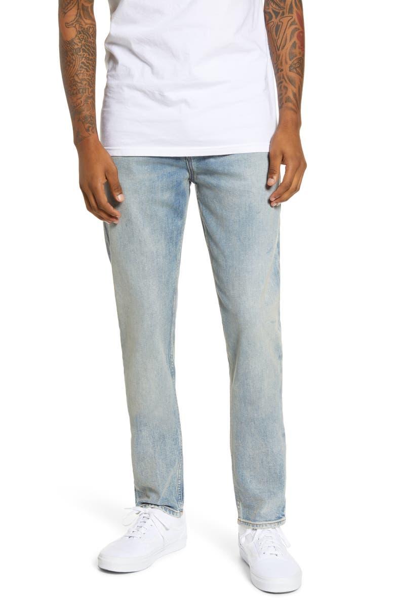 HUDSON JEANS Axl Skinny Fit Jeans, Main, color, PODIUM
