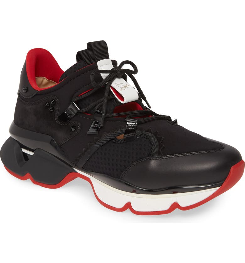 official photos cf65f db053 Christian Louboutin Red Runner Sneaker (Men) | Nordstrom