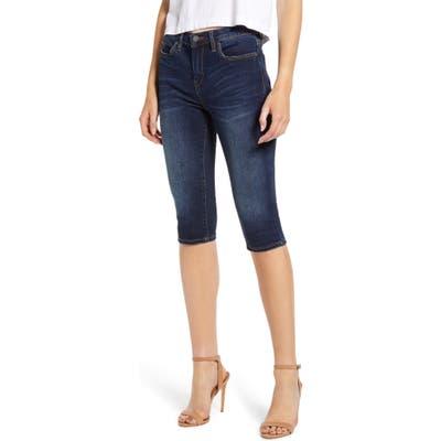 Blanknyc Denim Bermuda Shorts, Blue