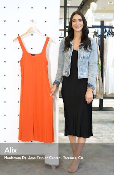 Allegra Button Hem Midi Dress, sales video thumbnail