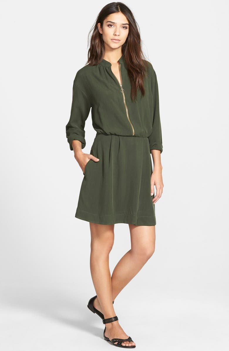 AMOUR VERT 'Tippi' Blouson Dress, Main, color, 300