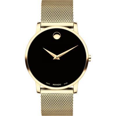 Movado Museum Mesh Bracelet Watch, 40mm