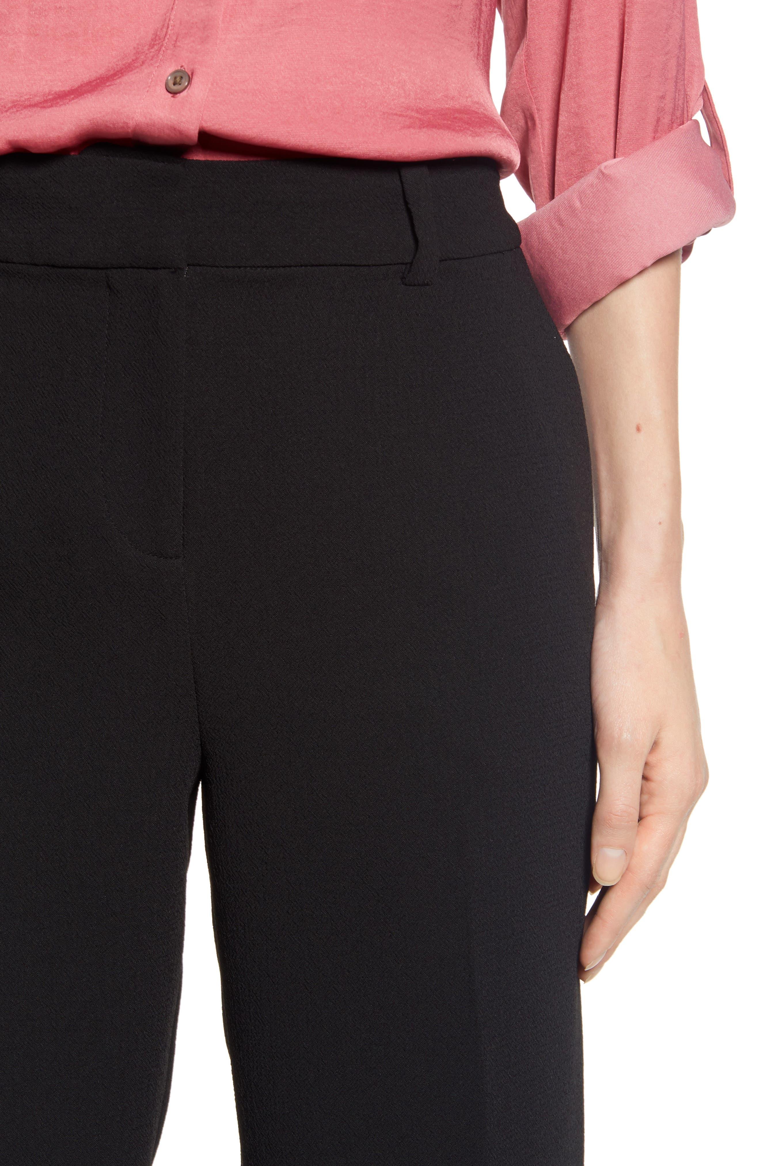 ,                             Parisian Crepe Trousers,                             Alternate thumbnail 5, color,                             006