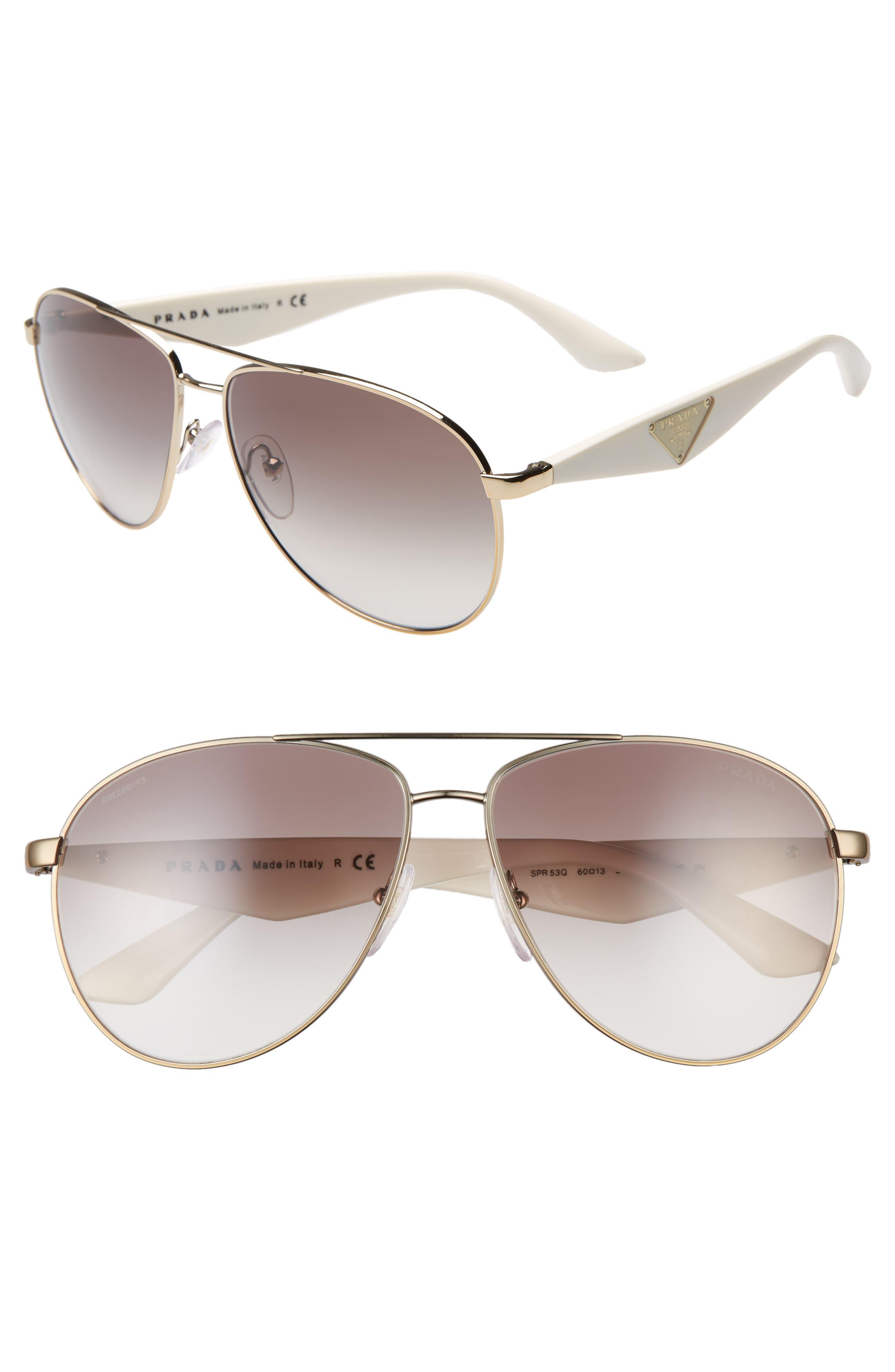 fbbeb71e8097 prada aviator sunglasses & eyewear for women - Buy best women's prada  aviator sunglasses & eyewear on Cools.com Shop