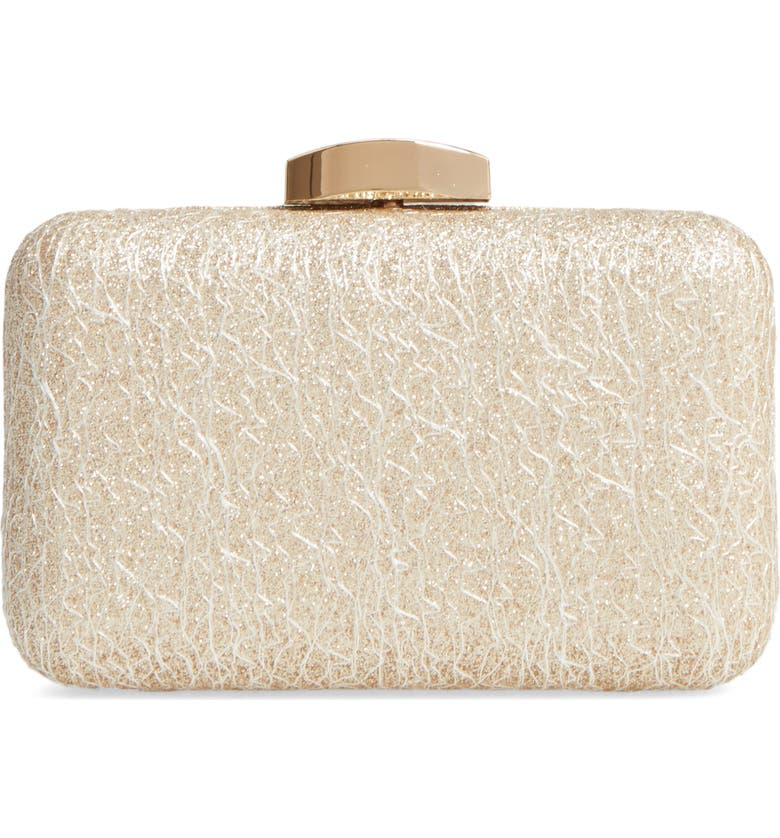 NORDSTROM Abstract Lace Minaudière, Main, color, 710