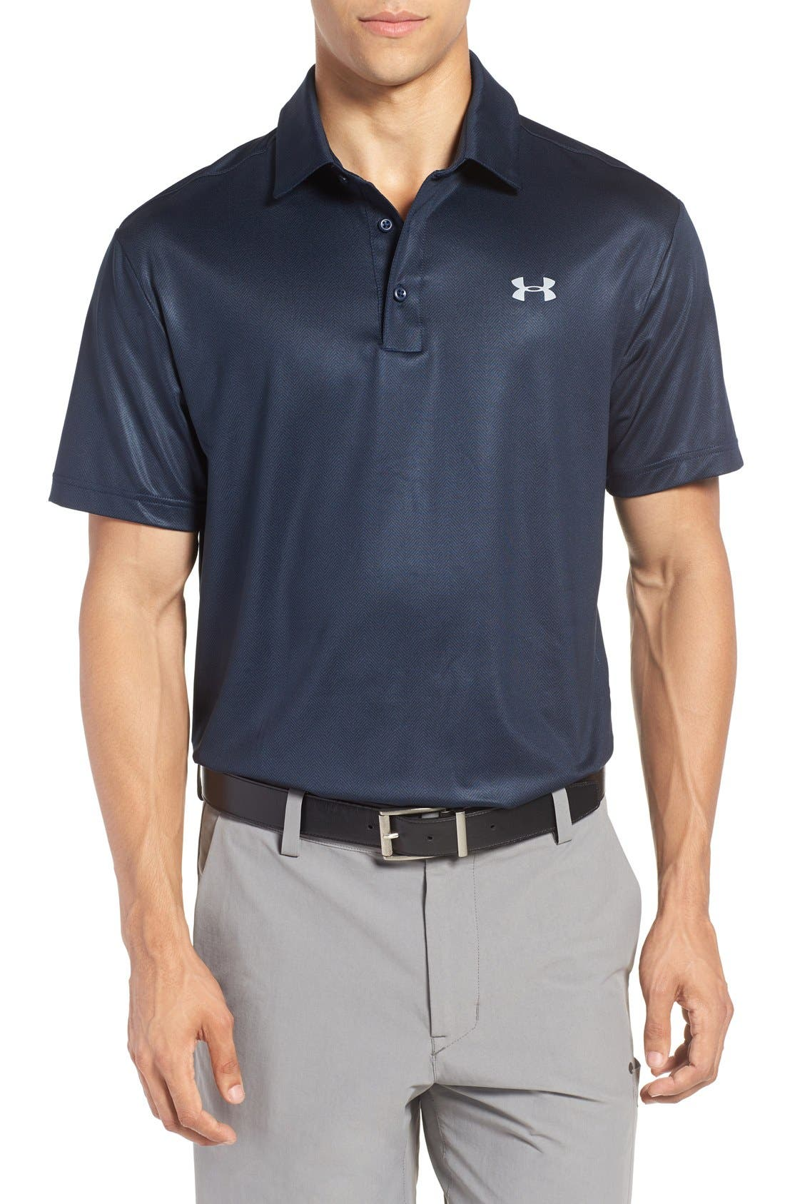 ,                             'Playoff' Loose Fit Short Sleeve Polo,                             Main thumbnail 239, color,                             419