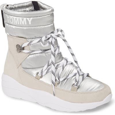Tommy Jeans Diane Boot, White