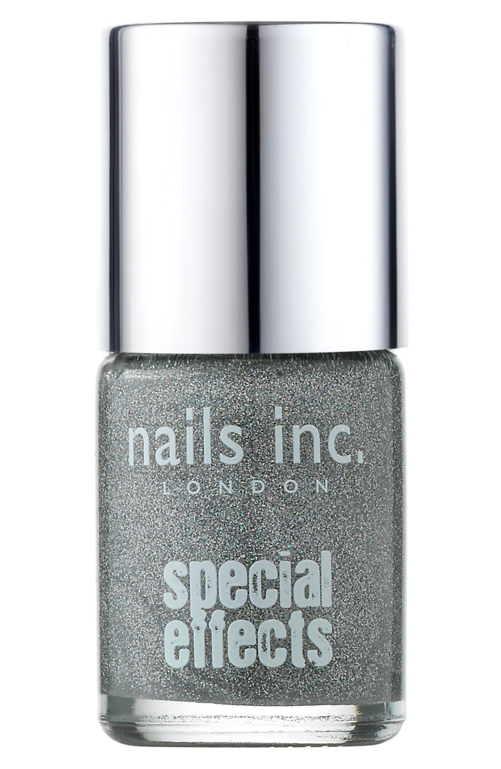nails inc. London \'Special Effects - Electric Lane\' Holographic Top ...