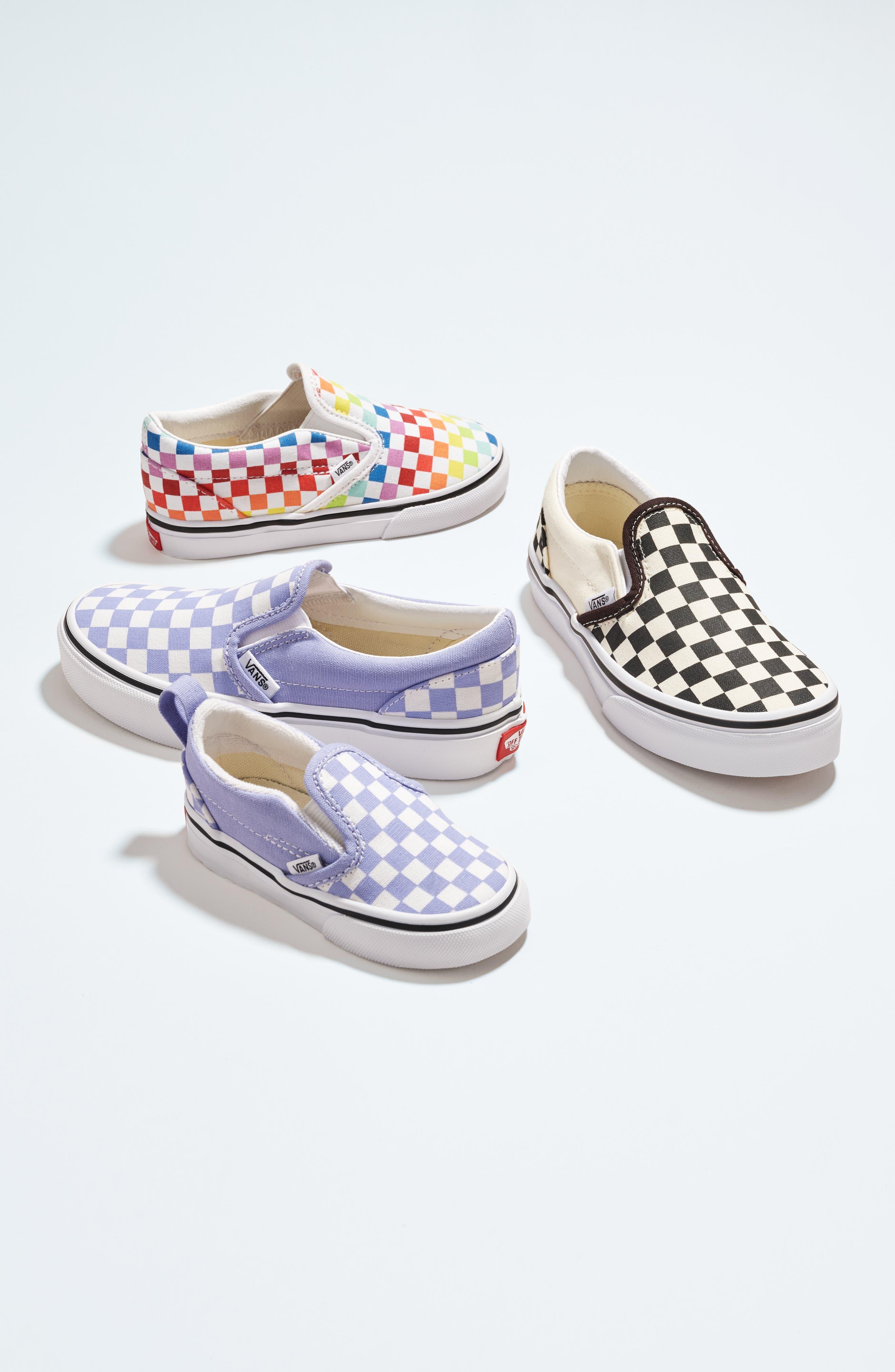 vans kids classic slip on shoes