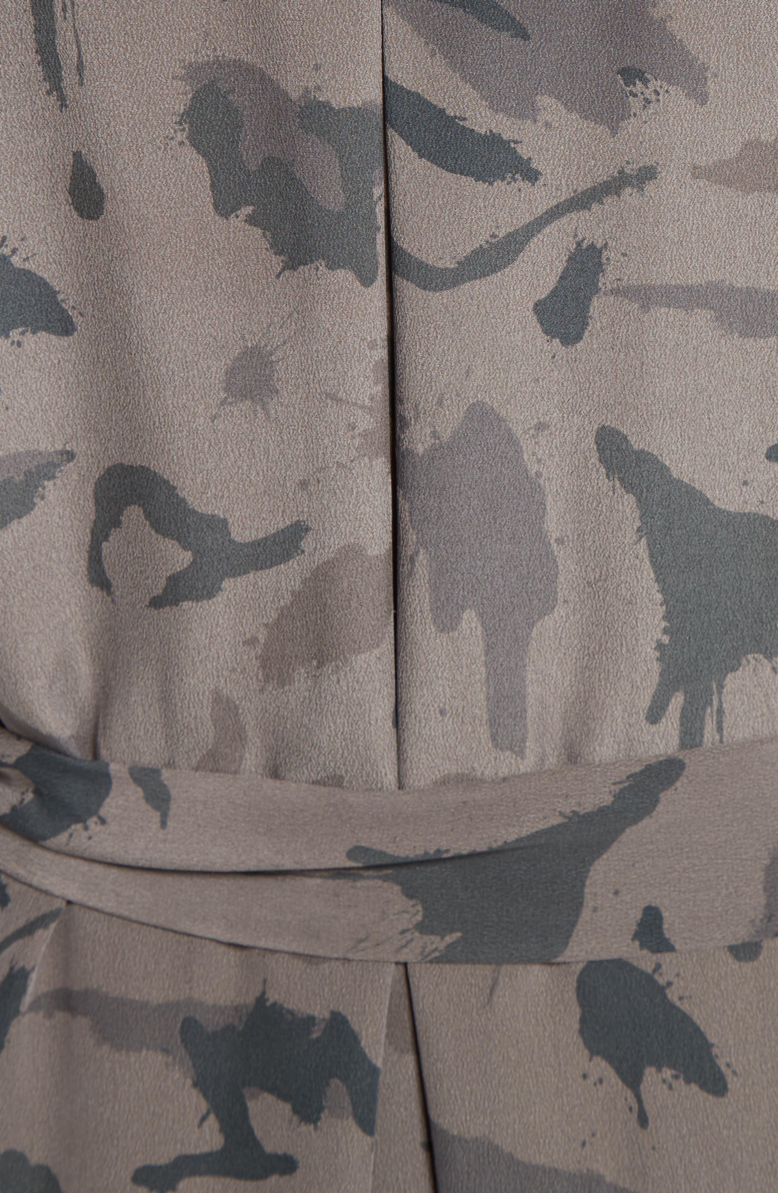 ,                             Silk Maxi Shirtdress,                             Alternate thumbnail 5, color,                             360