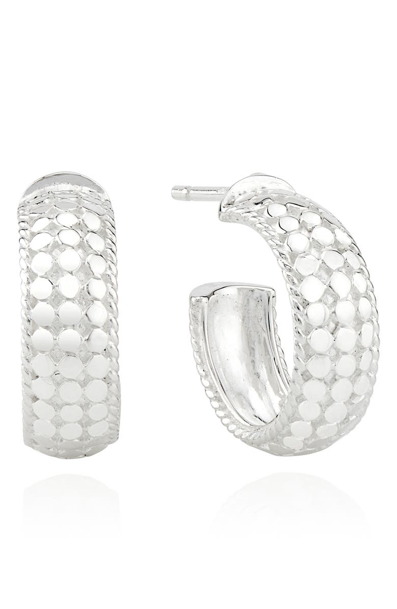 ANNA BECK Small Dome Hoop Earrings, Main, color, 040