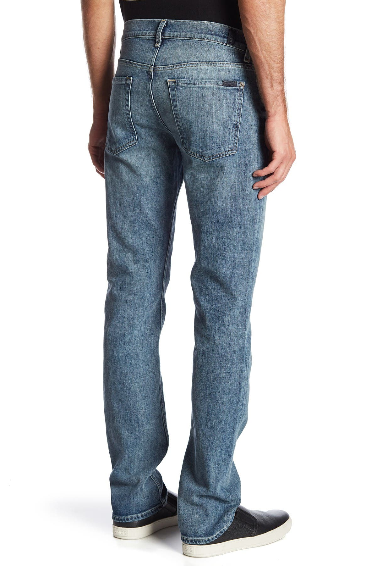 Image of 7 For All Mankind Slimmy Clean Pocket Jeans