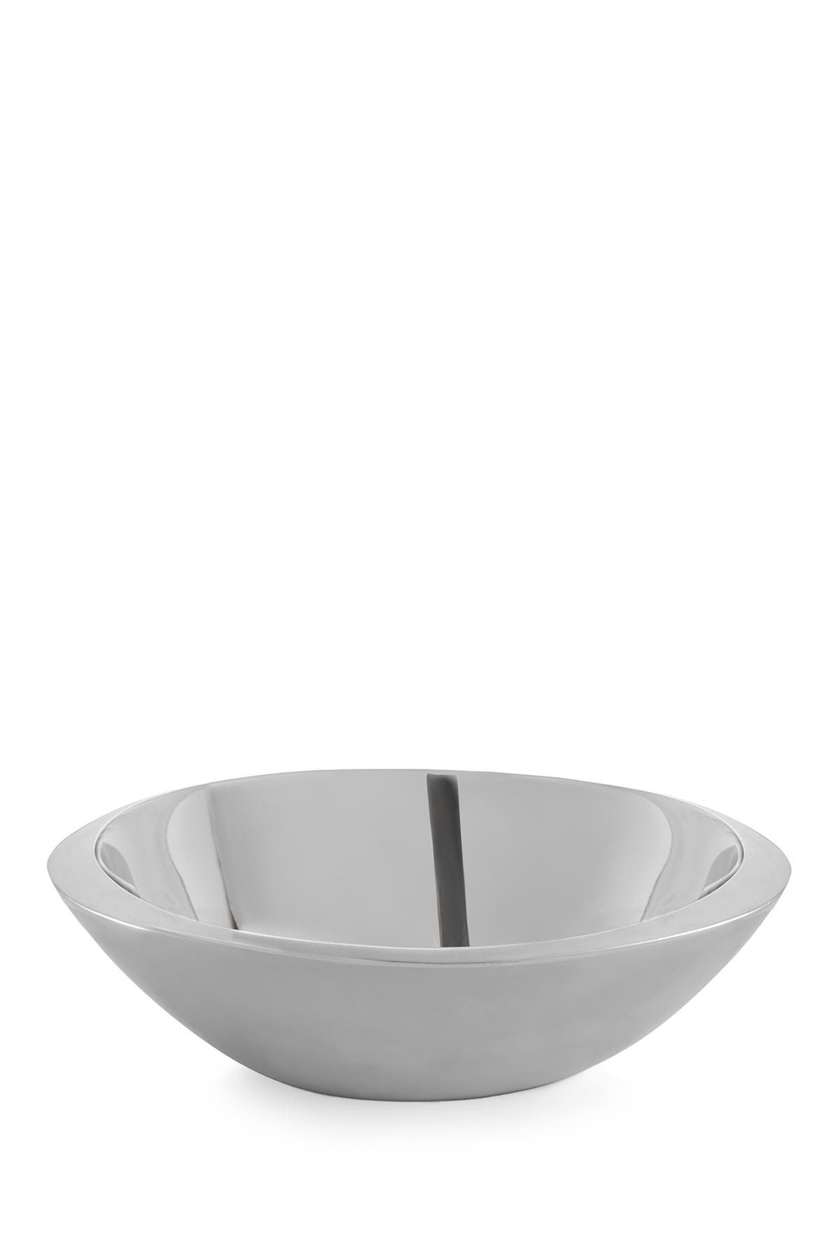 "Image of Nambe 12"" Eclipse Serving Bowl"