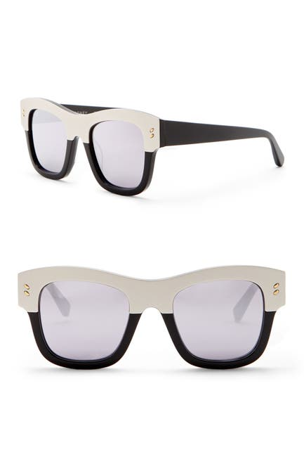 Image of Stella McCartney 49mm Square Sunglasses