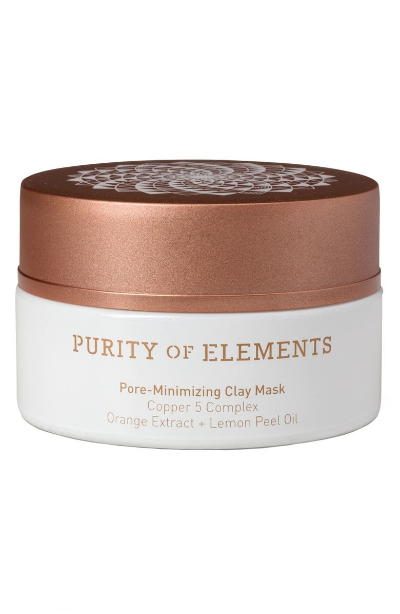PURITY OF ELEMENTS Pore-Minimizing Clay Mask, Main, color, 000