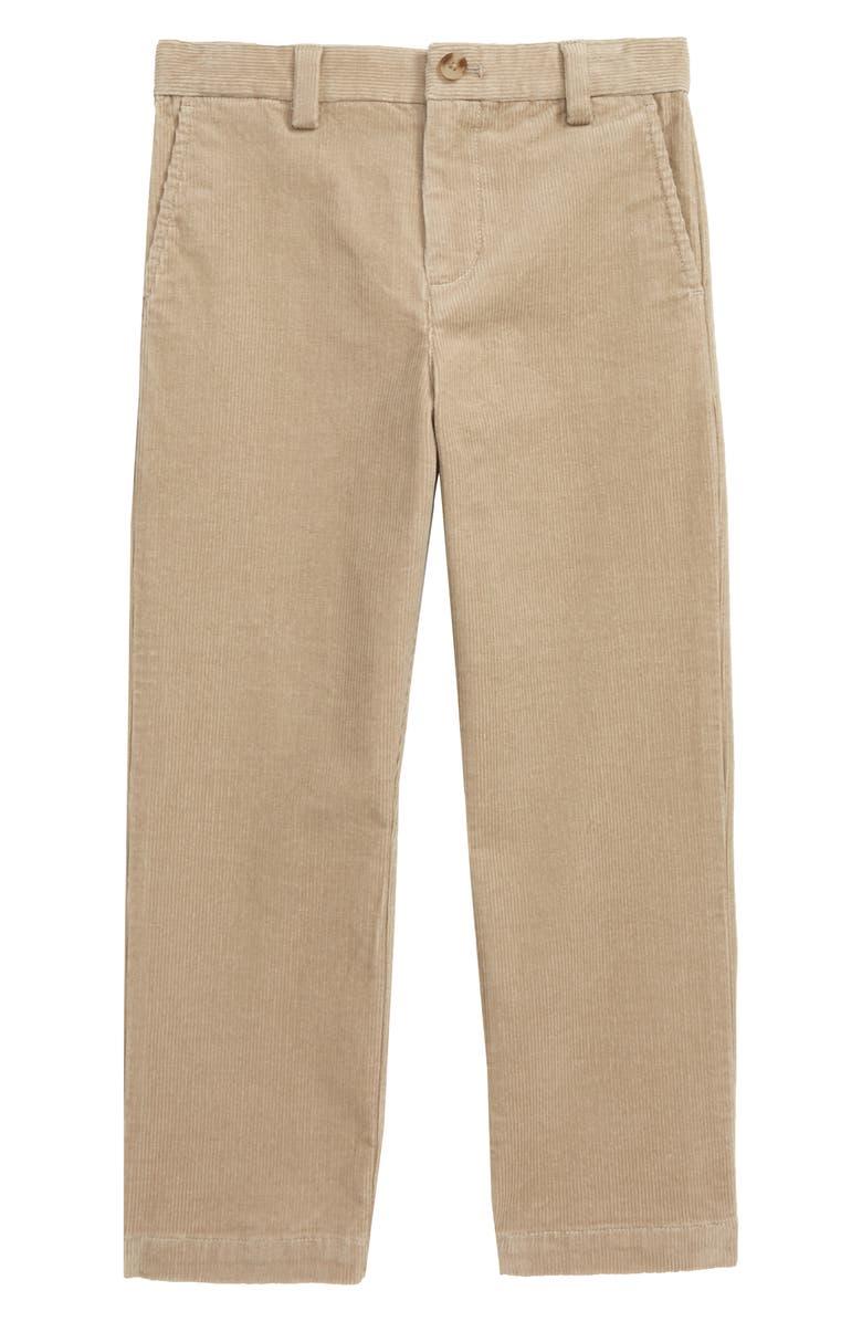 VINEYARD VINES Corduroy Breaker Pants, Main, color, KHAKI