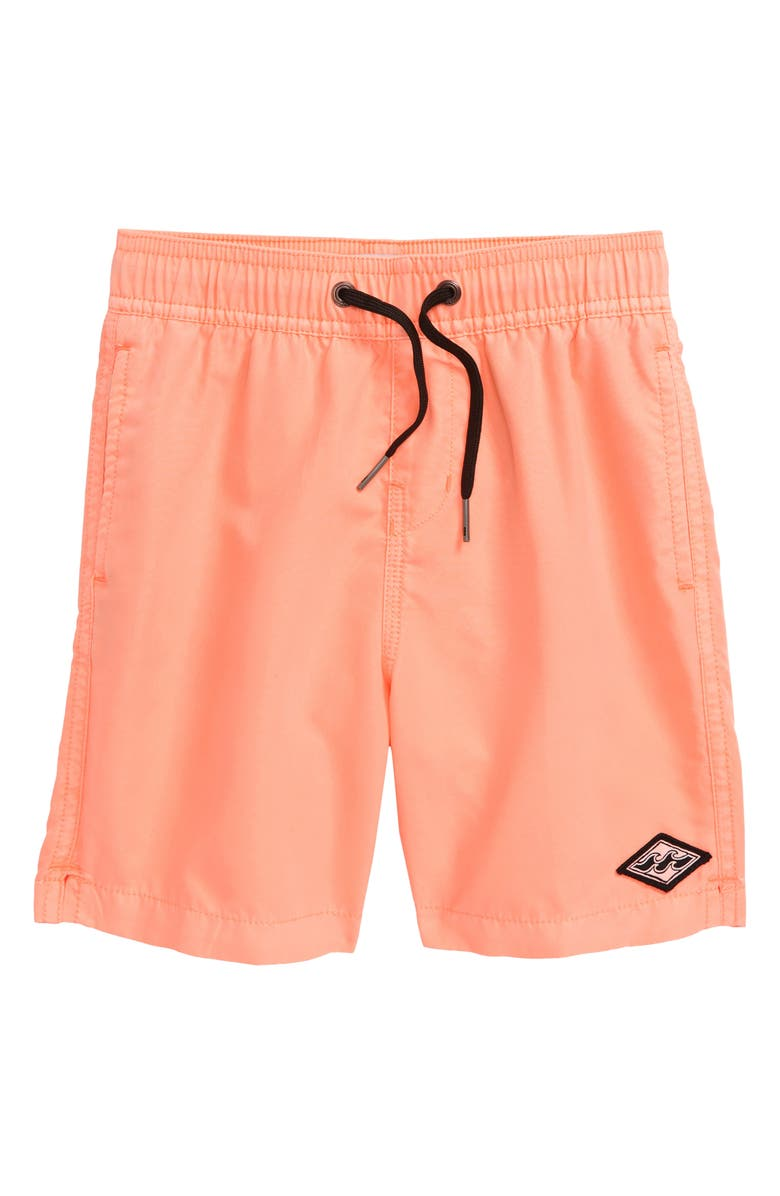 BILLABONG All Day Layback Swim Trunks, Main, color, 822