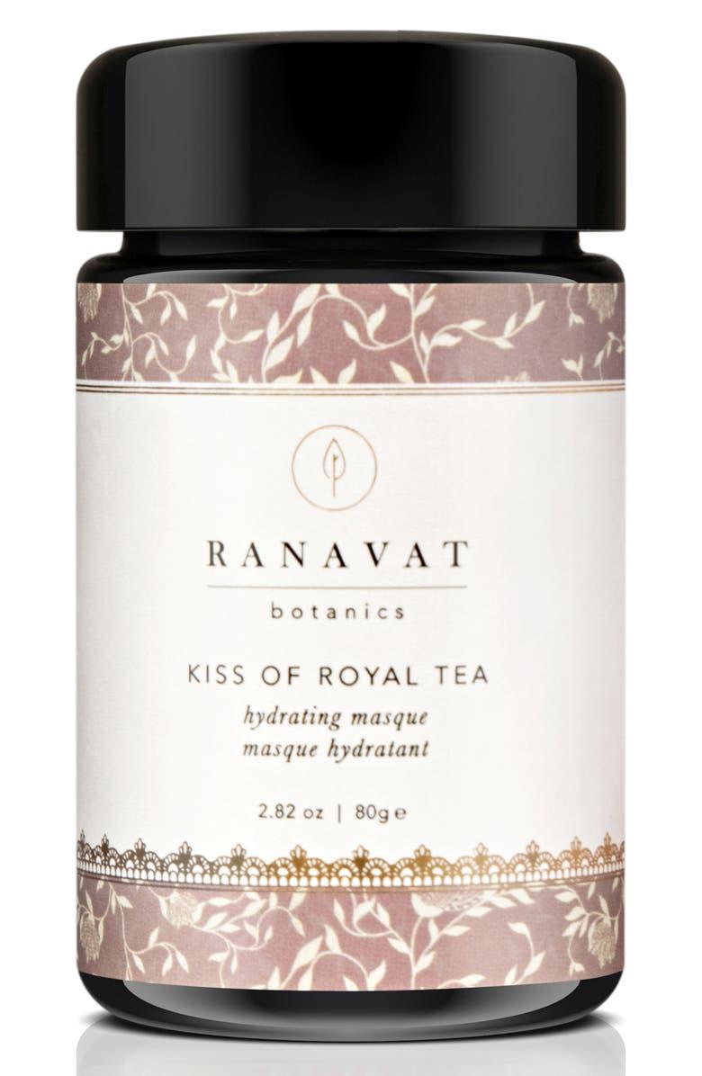 RANAVAT BOTANICS Kiss of Royal Tea Hydrating Masque, Main, color, 650