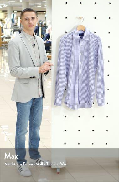Trim Fit Plaid Dress Shirt, sales video thumbnail