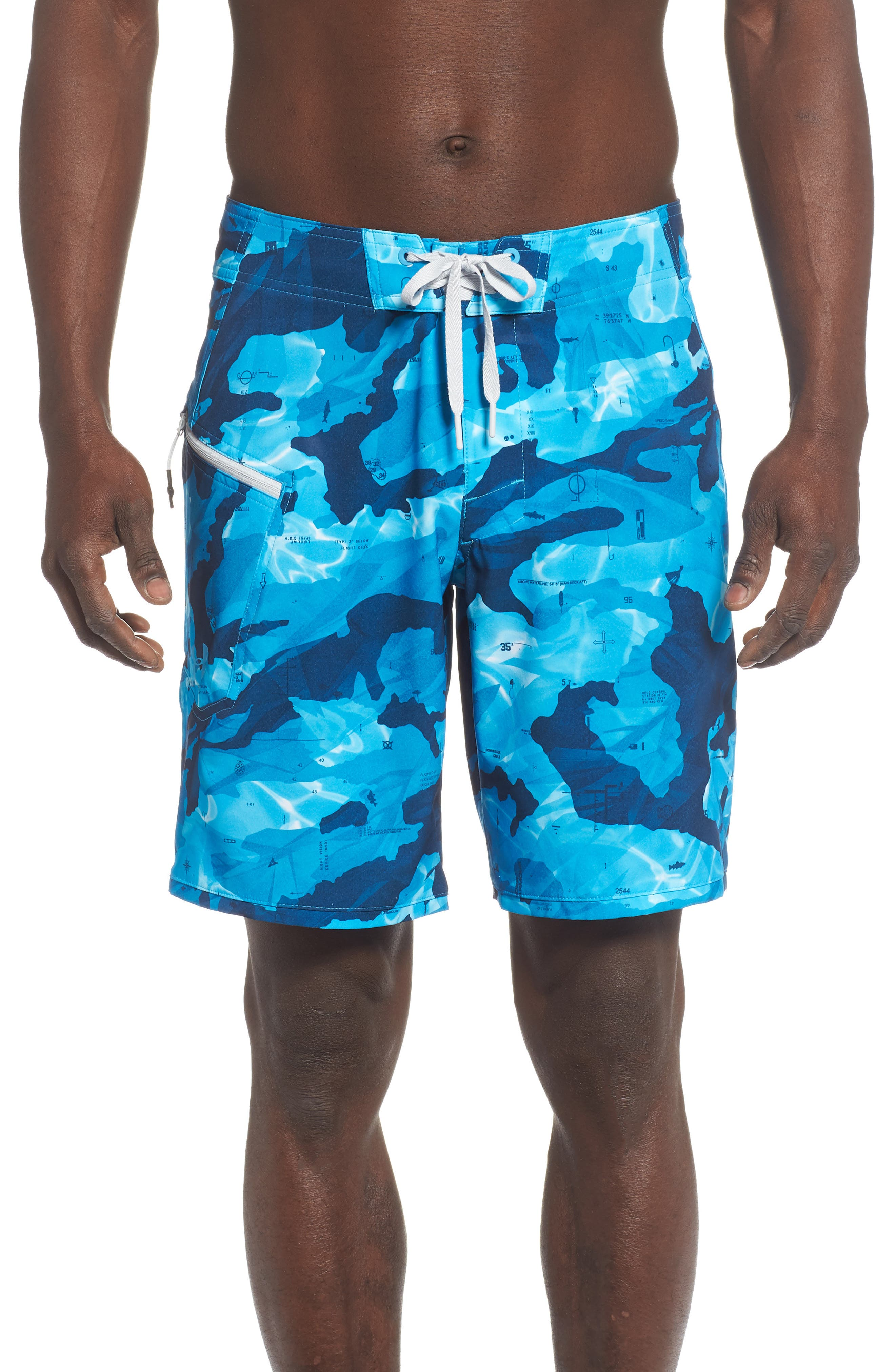 Under Armour Tide Chaser Board Shorts, Blue
