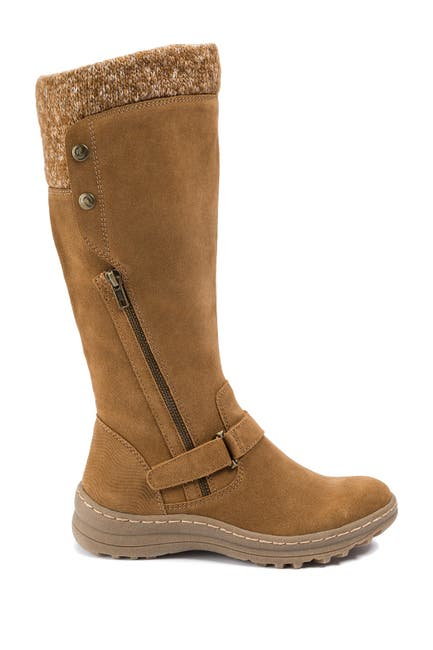Image of BareTraps Adele Tall Water Resistant Faux Shearling Boot