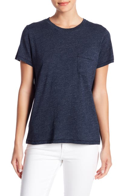 Image of Madewell Crew Neck Pocket T-Shirt