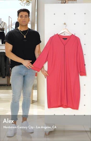 Jacquard Knit A-Line Dress, sales video thumbnail