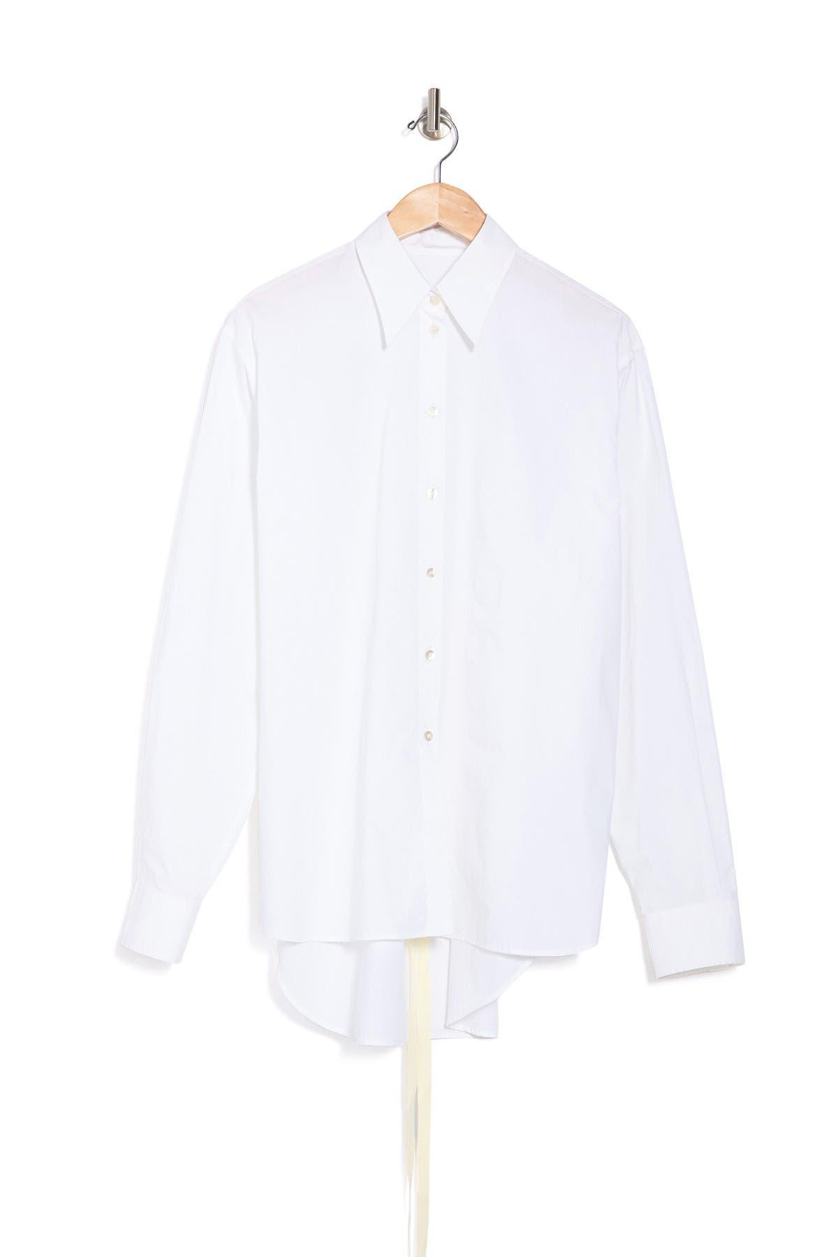 Image of MAISON MARTIN MARGIELA Tie Waist Shirt