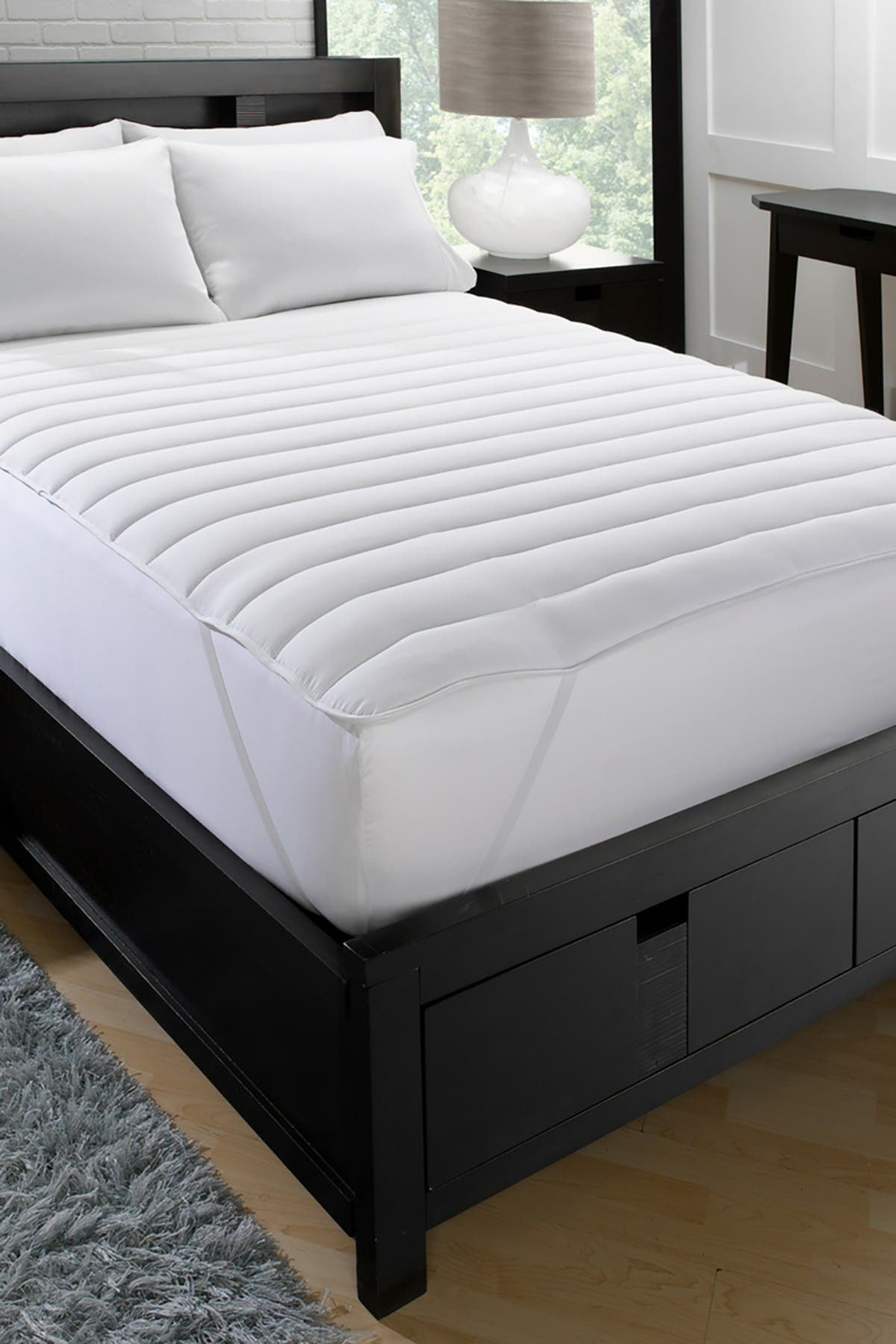 "Image of Ella Jayne Home Big & Soft Fiber Bed Cal King Mattress Pad - 72""x84"""