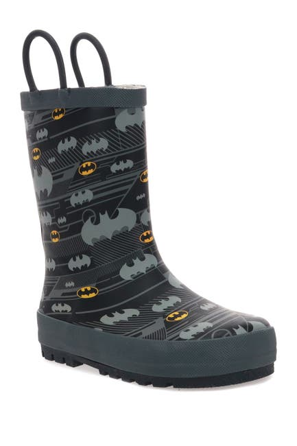 Image of Western Chief Batman Hang Out Faux Fur Lined Rain Boot