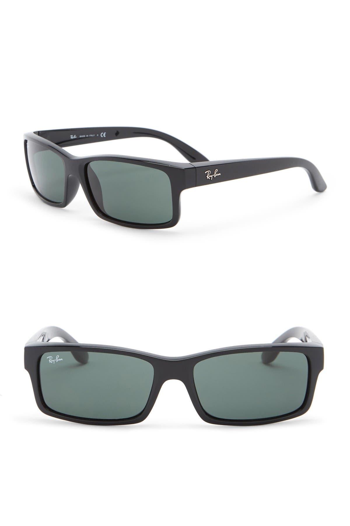 Image of Ray-Ban 59mm Polarized Rectangle Sunglasses