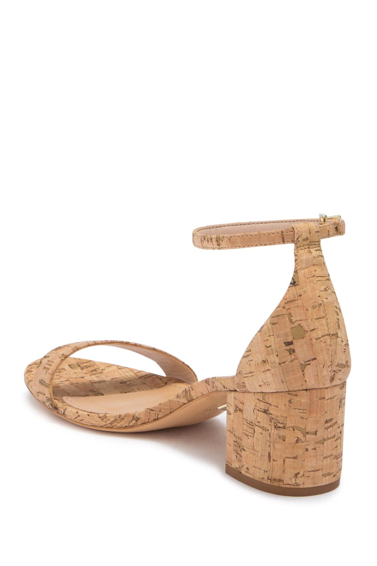 Image of Schutz Chimes Cork Block Heel Sandal