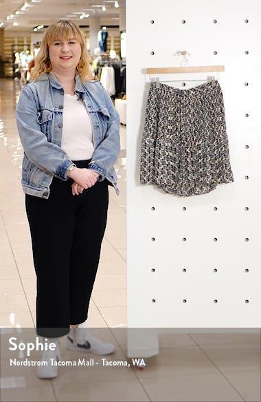 Ruffle Hem Pleated Miniskirt, sales video thumbnail