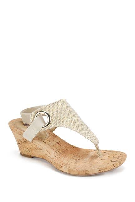 Image of White Mountain Footwear Aida Cork Wedge Sandal
