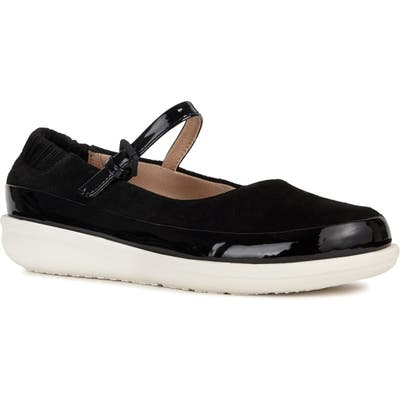 Geox Jearl Mary Jane, Black