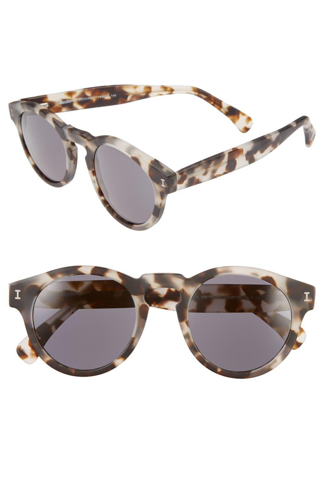 ,                             'Leonard' 47mm Sunglasses,                             Main thumbnail 45, color,                             102