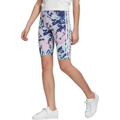 Adidas Originals Adicolor Bike Shorts, Blue