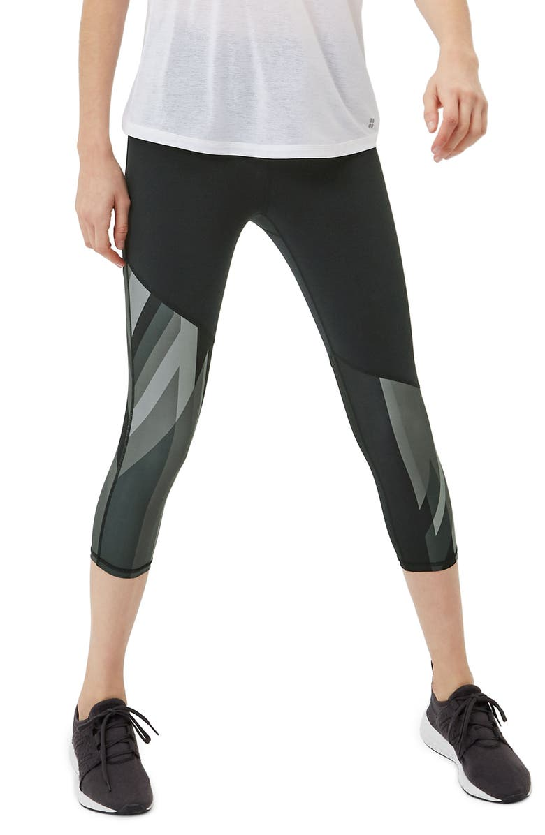 great deals on fashion performance sportswear nice shoes Power Union Jack Crop Leggings