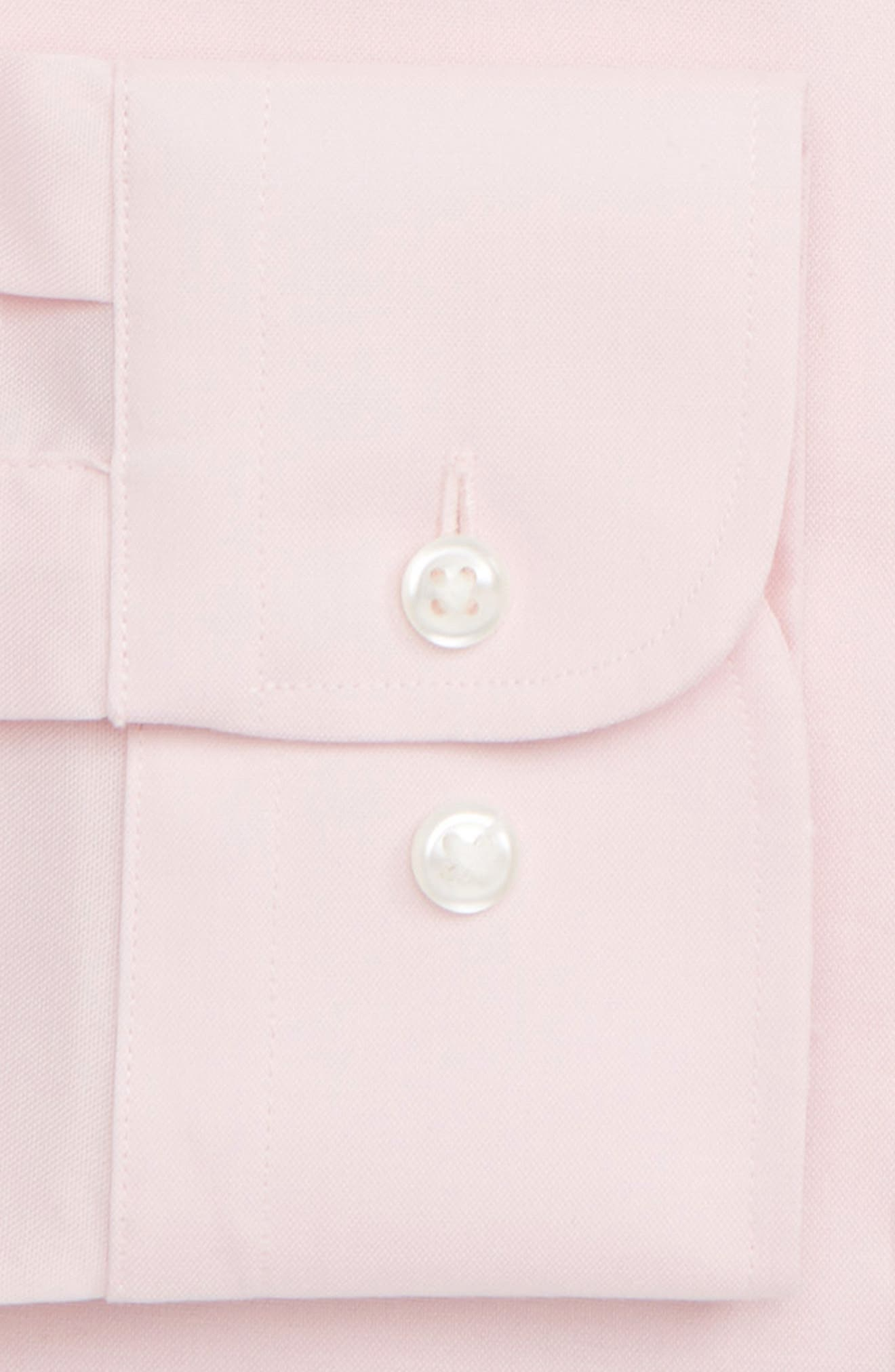,                             Extra Trim Fit Non-Iron Solid Dress Shirt,                             Alternate thumbnail 48, color,                             660
