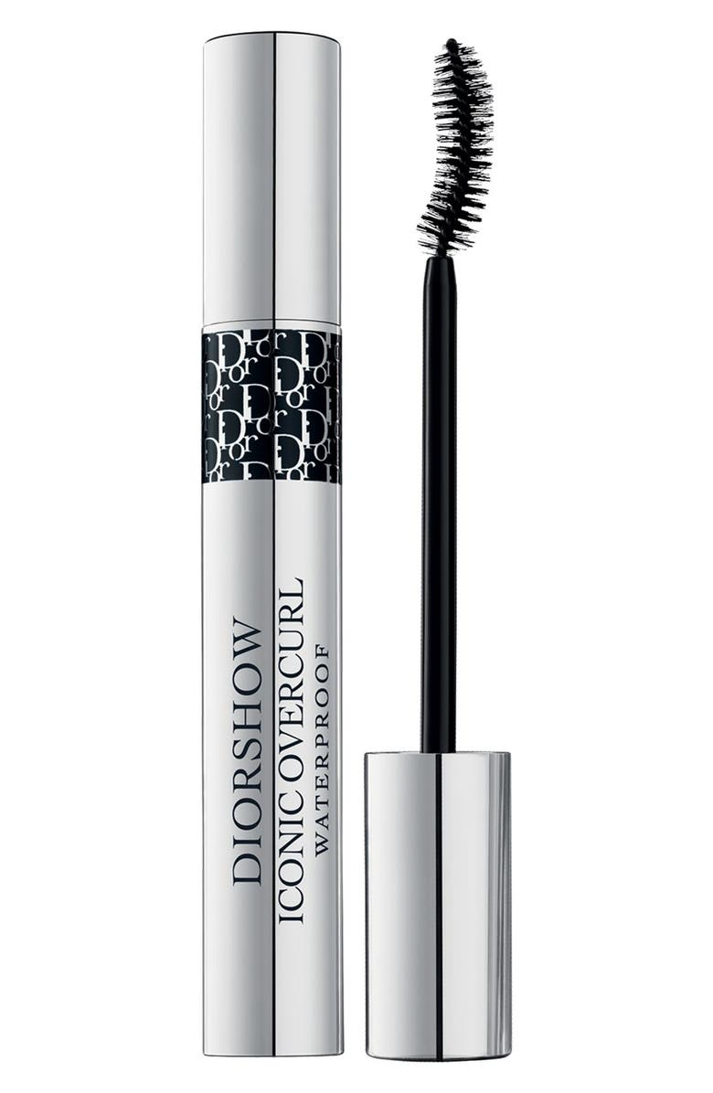 DIOR Diorshow - Iconic Overcurl Waterproof Spectacular Volume & Curl Mascara, Main, color, 091 OVERBLACK