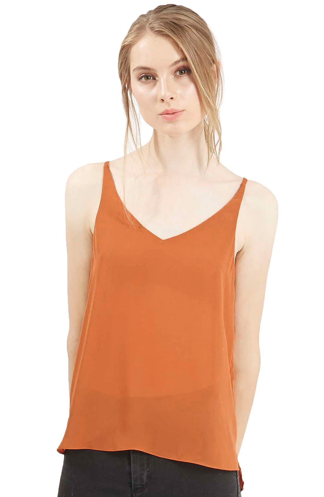 ,                             Strappy V-Neck Camisole,                             Main thumbnail 6, color,                             230