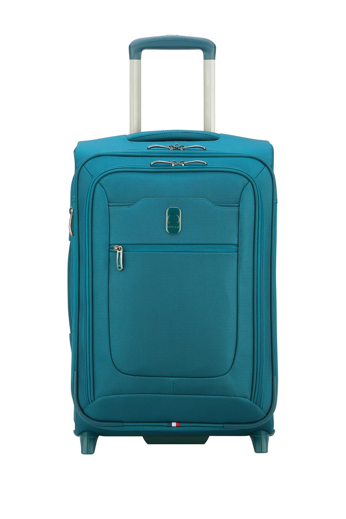 """Delsey Hyperglide 2-wheel 21"""" Carry-on Suitcase In Teal/peacock At Nordstrom Rack"""
