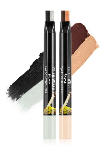 Image of Mirenesse Long Wear Eyeshadow Liner Ombre 2-Piece Kit