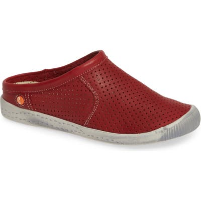 Softinos By Fly London Ima Sneaker Mule - Red