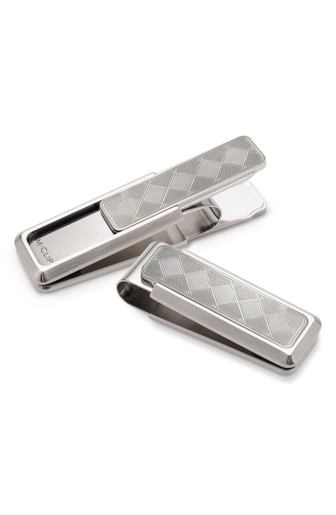 Men's M-Clip Herringbone Money Clip