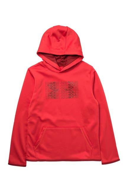 Image of Under Armour Big Logo Fleece Lined Hoodie