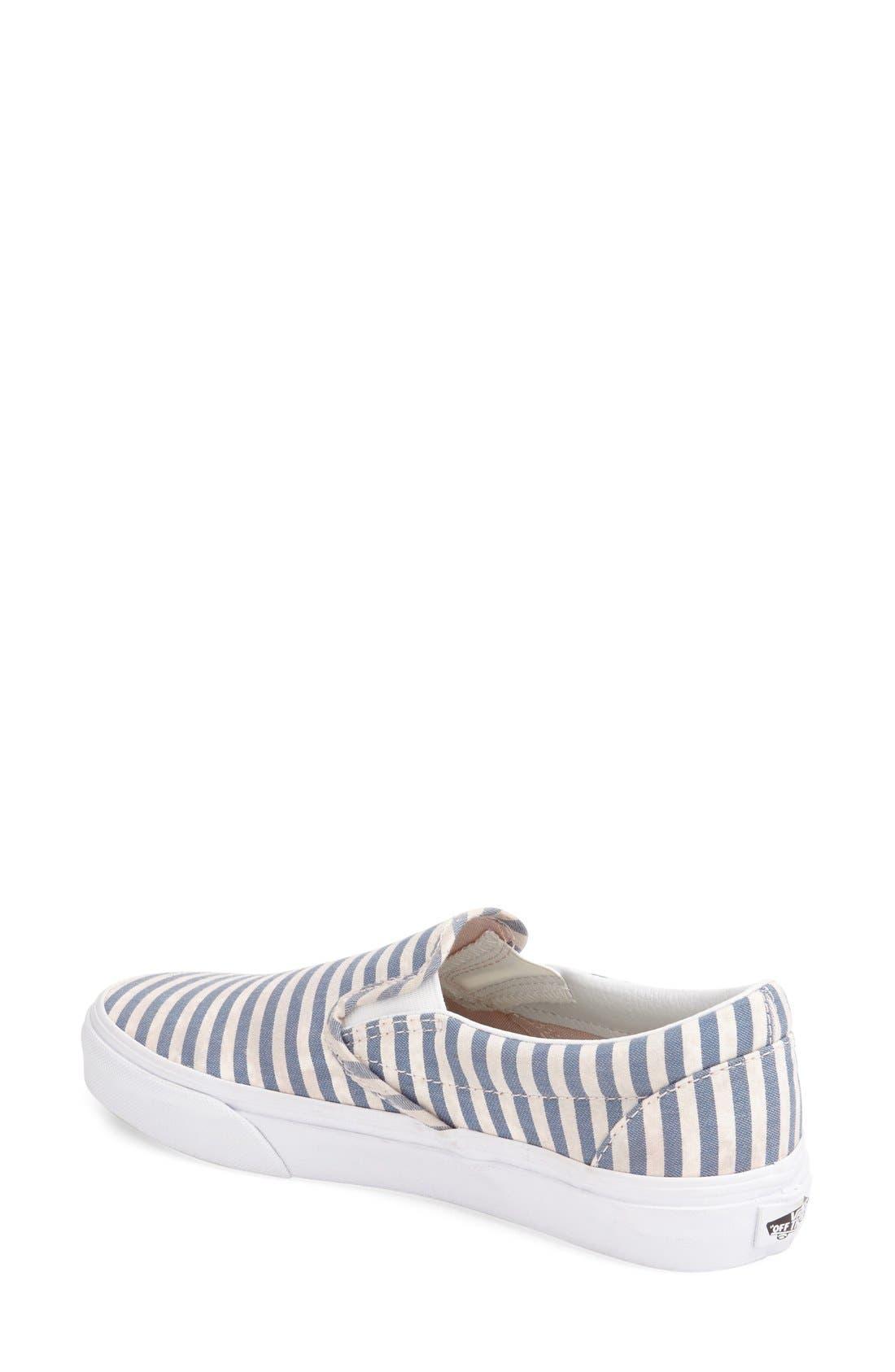 ,                             Classic Slip-On Sneaker,                             Alternate thumbnail 359, color,                             410