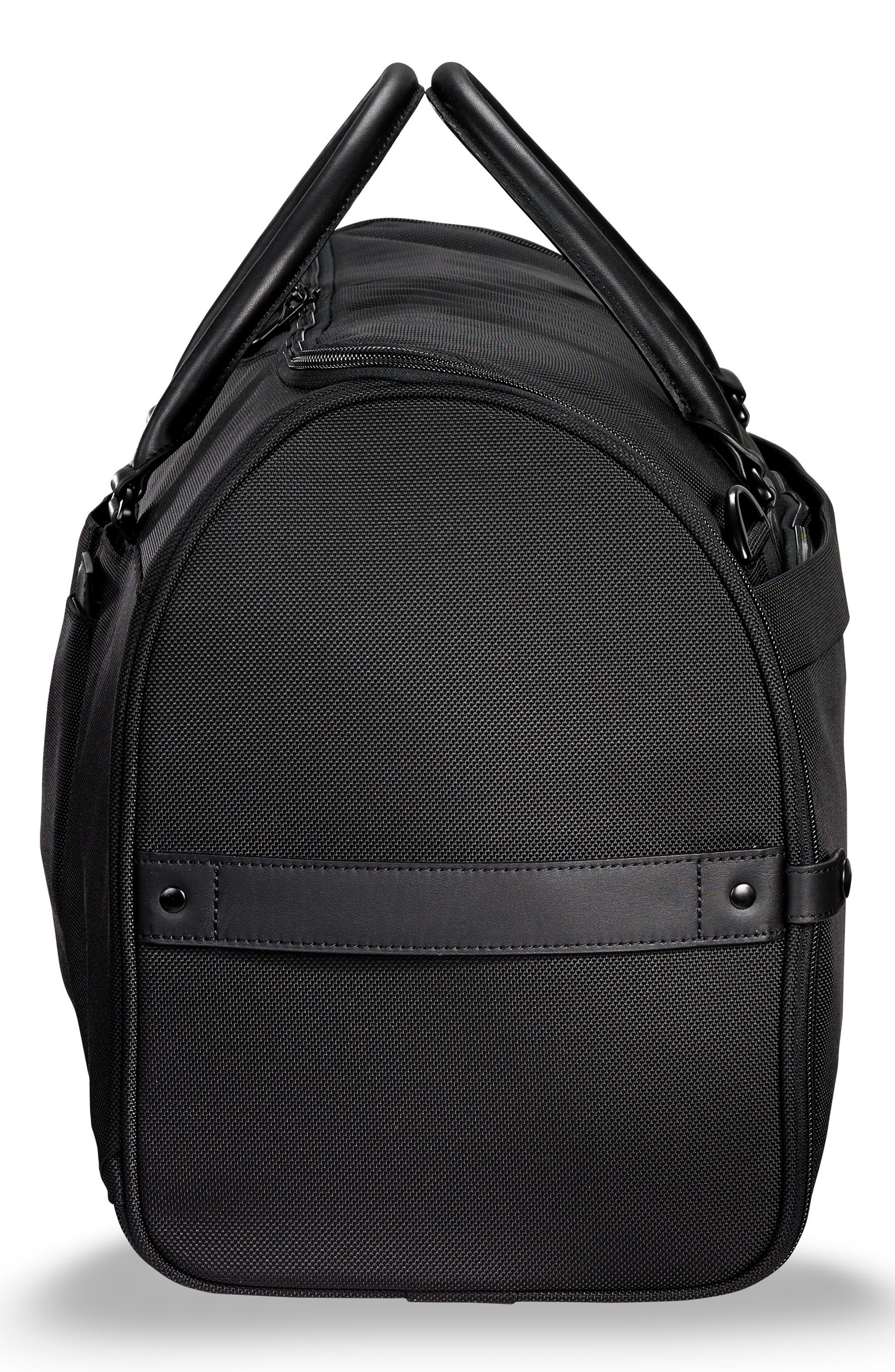 ,                             Baseline Suiter Duffle Bag,                             Alternate thumbnail 5, color,                             BLACK