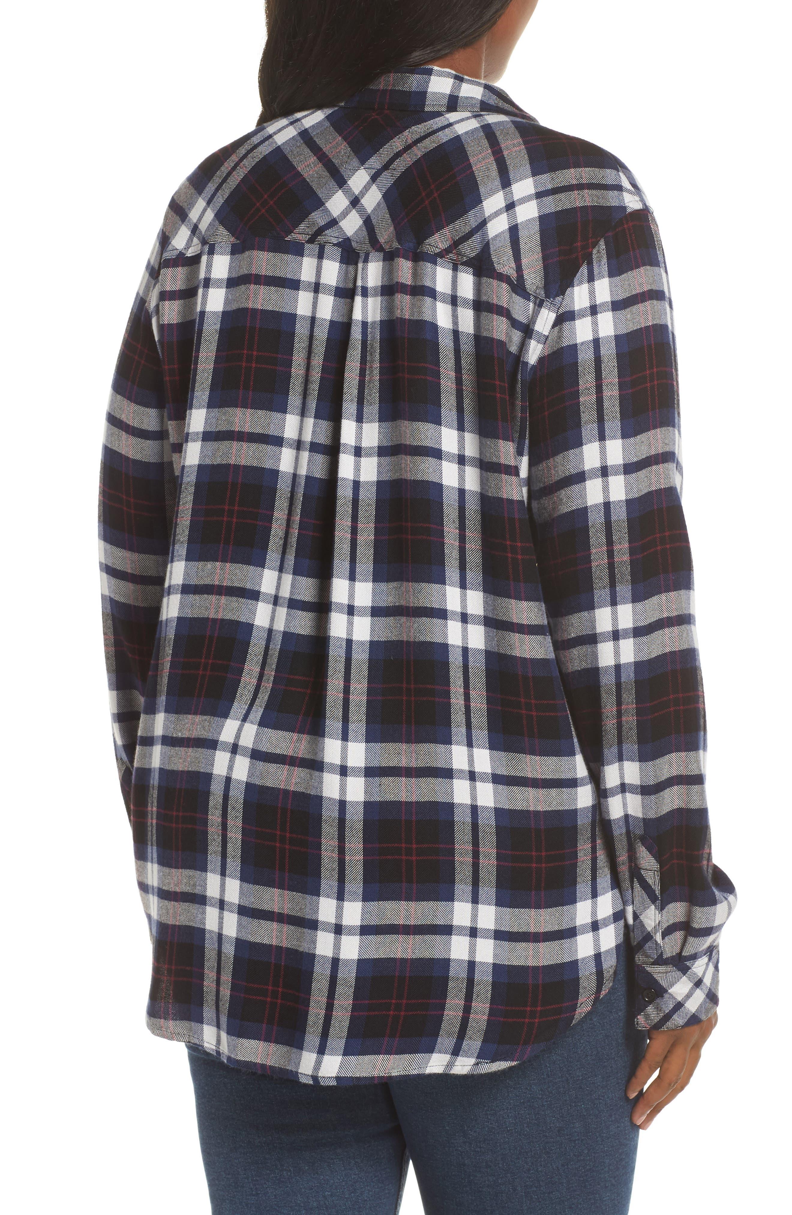 ,                             Hunter Plaid Shirt,                             Alternate thumbnail 321, color,                             409